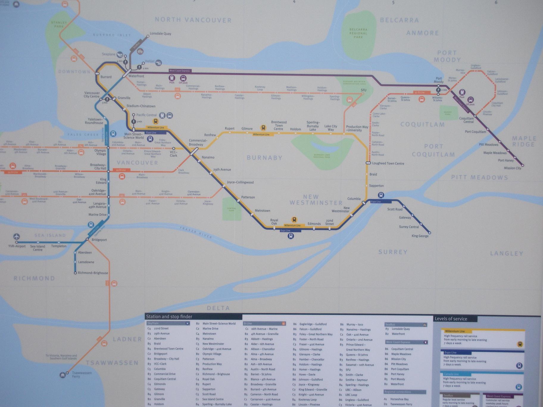 Translink 101 bus schedule-4539